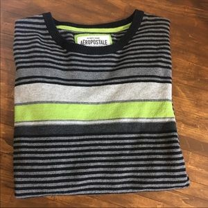 Men's striped pull over Sweater
